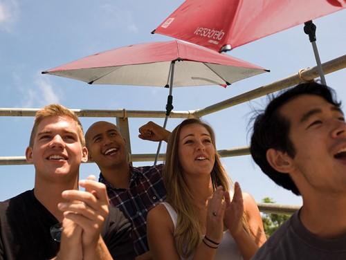 Sport-Brella Versa-Brella Paraplu / Parasol - Rood - Zonder originele verpakking-3