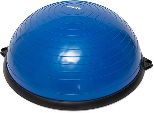 VirtuFit Balanstrainer Pro - Balansbal -  met Fitness Elastieken en Pomp - Blauw-2