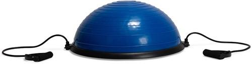 VirtuFit Balanstrainer Pro - Balansbal -  met Fitness Elastieken en Pomp - Blauw-3