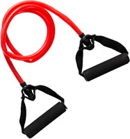 VirtuFit Weerstandkabel met Handvat - Medium (Fitness Elastiek)