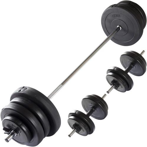 VirtuFit Verstelbare Halterset - Dumbbellset - 60,5 kg - Zwart