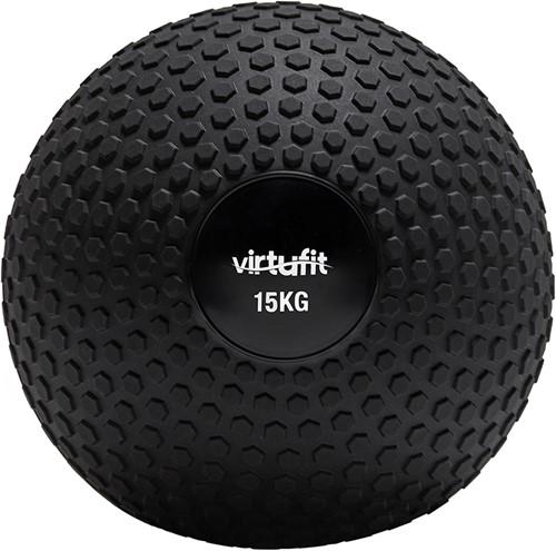 VirtuFit Slam Ball – Fitness Bal – Crossfit Bal - 15 kg – Zwart