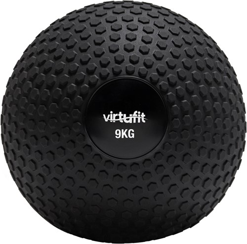 VirtuFit Slam Ball – Fitness Bal – Crossfit Bal - 9 kg – Zwart