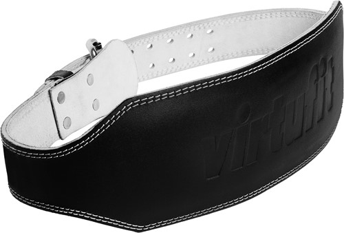 VirtuFit Leren Lifting Belt Pro - Lederen Halterriem