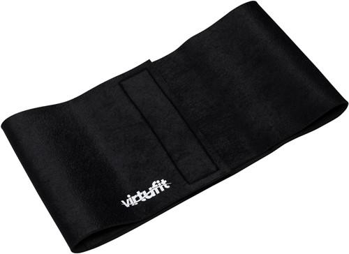 VirtuFit Afslank Tailleband Neopreen 20 - Afslankband - Waist Trainer - Slimming Belt - 20 cm - Zwart-3