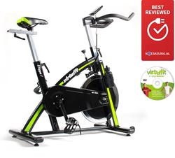 VirtuFit Etappe 1 Spinbike Met Computer- Inclusief Gratis Spinning DVD - Gratis trainingsschema - Verpakking beschadigd