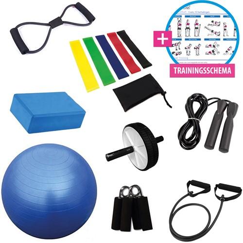 Virtufit Yoga Fit & Trainingspakket XL - Inclusief trainingsschema