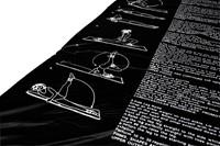 VirtuFit Fitnessmat - Yogamat - PVC - 180 x 60 cm - Met oefeningen - Zwart-2