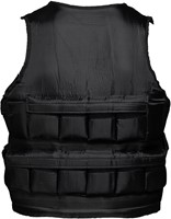 VirtuFit Verstelbaar Gewichtsvest Pro - 10 kg - Zwart-3
