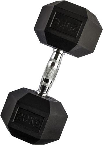 VirtuFit Hexa Dumbbell Pro - 20 kg - Per Stuk