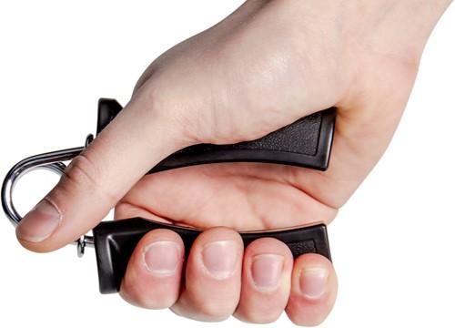 VirtuFit Handknijper - Knijphalter - Handtrainer Set - Zwart-3