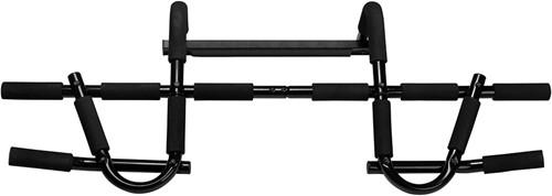 VirtuFit Multifunctionele Optrekstang - Pull Up Bar Deluxe - Zwart-3