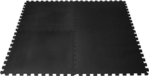 VirtuFit Fitness Puzzelmat - Vloermat - 4-delig - 120 x 120 cm - Zwart-2
