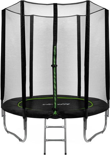 VirtuFit Trampoline met Veiligheidsnet - Zwart - 183 cm