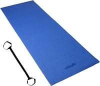 VirtuFit Yogamat met Draagkoord Blauw-3