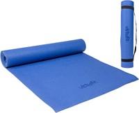 VirtuFit Yogamat - Fitnessmat - Met Draagkoord - 183 x 61 x 0.3 cm - Blauw