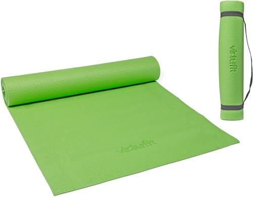 VirtuFit Yogamat met Draagkoord Lichtgroen