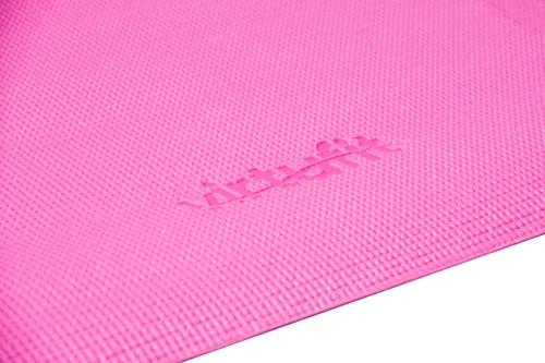 VirtuFit Yogamat - Fitnessmat - Met Draagkoord - 183 x 61 x 0.3 cm - Roze-2