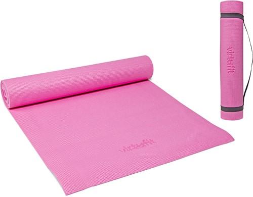 VirtuFit Yogamat - Fitnessmat - Met Draagkoord - 183 x 61 x 0.3 cm - Roze