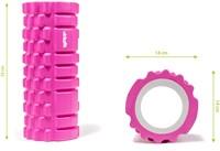 VirtuFit Grid Foam Roller 33 cm Roze - Afmetingen