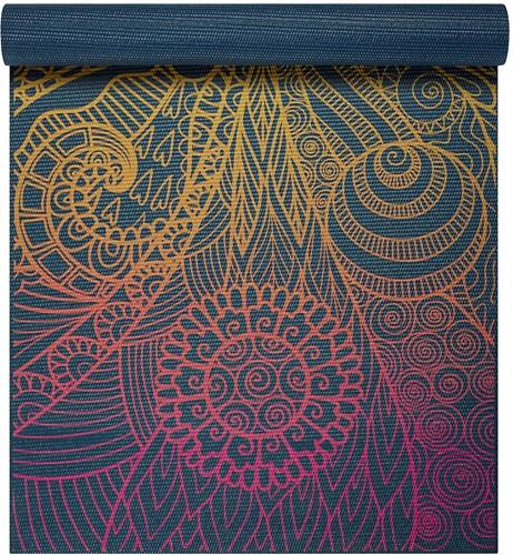 Gaiam Yoga Mat - 4 mm - Vivid Zest