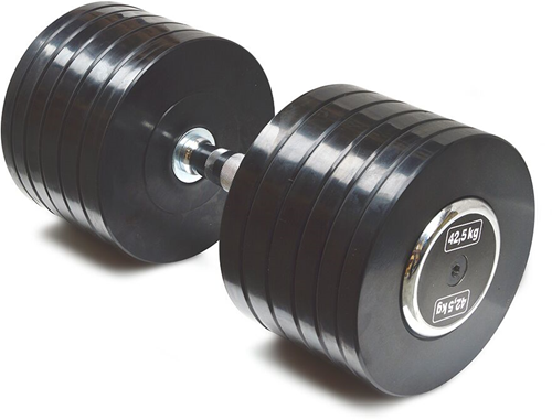 Body-Solid Pro Style Rubber Dumbells - 42.5 kg