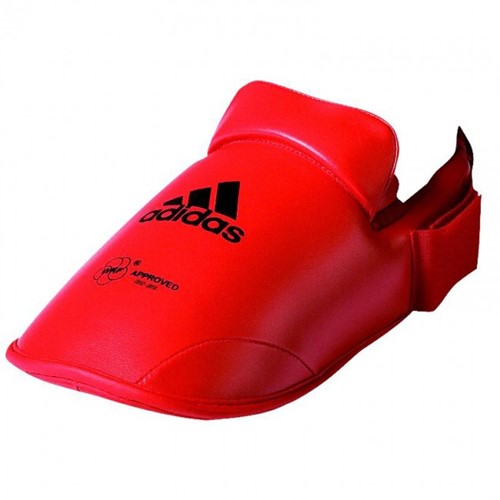 Adidas WFK Voetbeschermer - Rood - XL