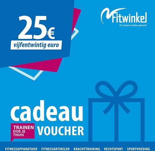 Fitwinkel Cadeaubon - 25 euro