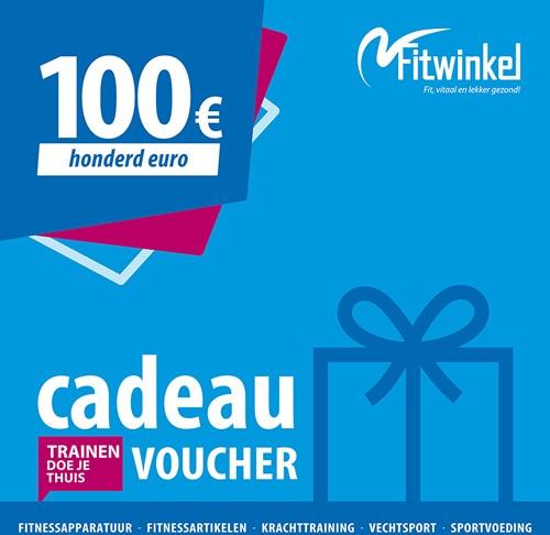 Fitwinkel Cadeaubon - 100 euro