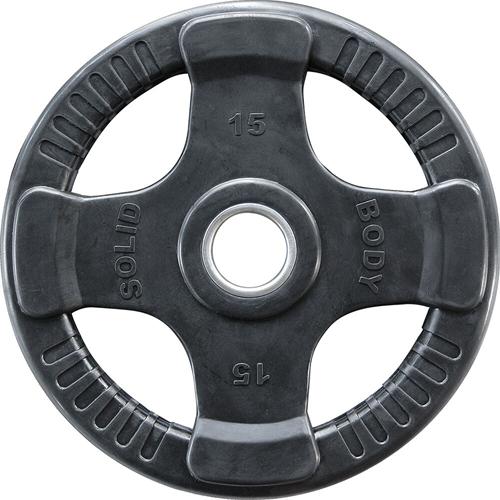 Body-Solid Olympische Rubber Halterschijf - 15 kg