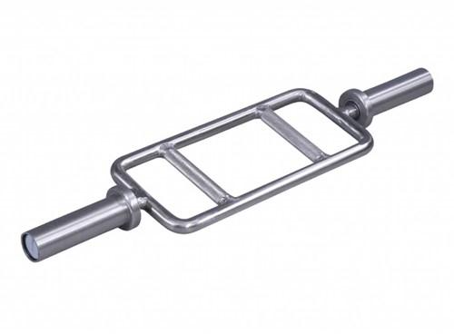 Lifemaxx Multi Purpose Bar - Geborsteld Staal - 86 cm