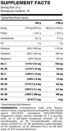 QNT XT3 Mineral - 400g - Lemon-2
