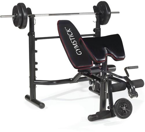 Gymstick Weight Bench 400 - Halterbank - Tweedekans