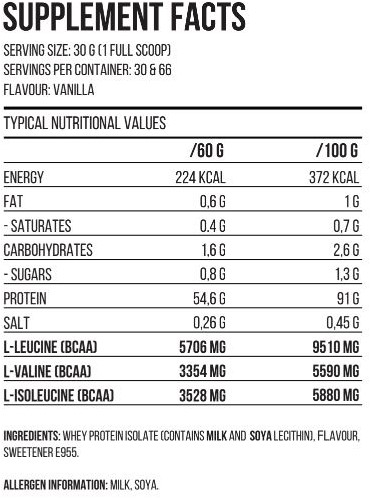 QNT Zero Carb Metapure - 908g - Strawberry-2