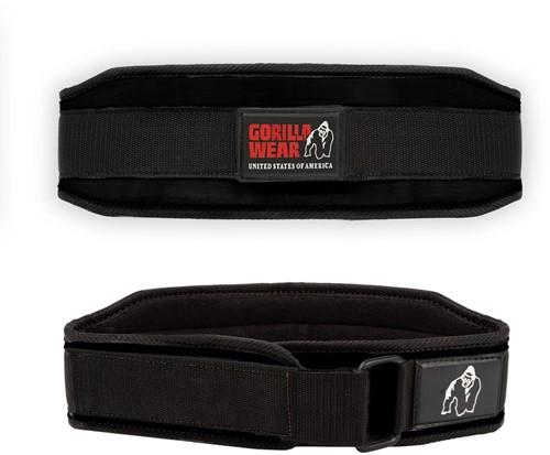 Gorilla Wear 4 Inch Dames Lifting Belt - Zwart