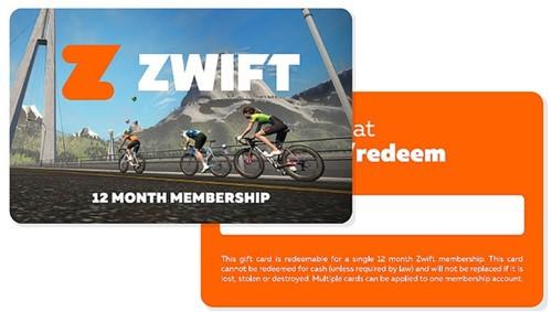 Zwift Gift Card 12 maanden